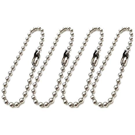 SUPVOX Collar de cadena de bola de 200 piezas conector de ...
