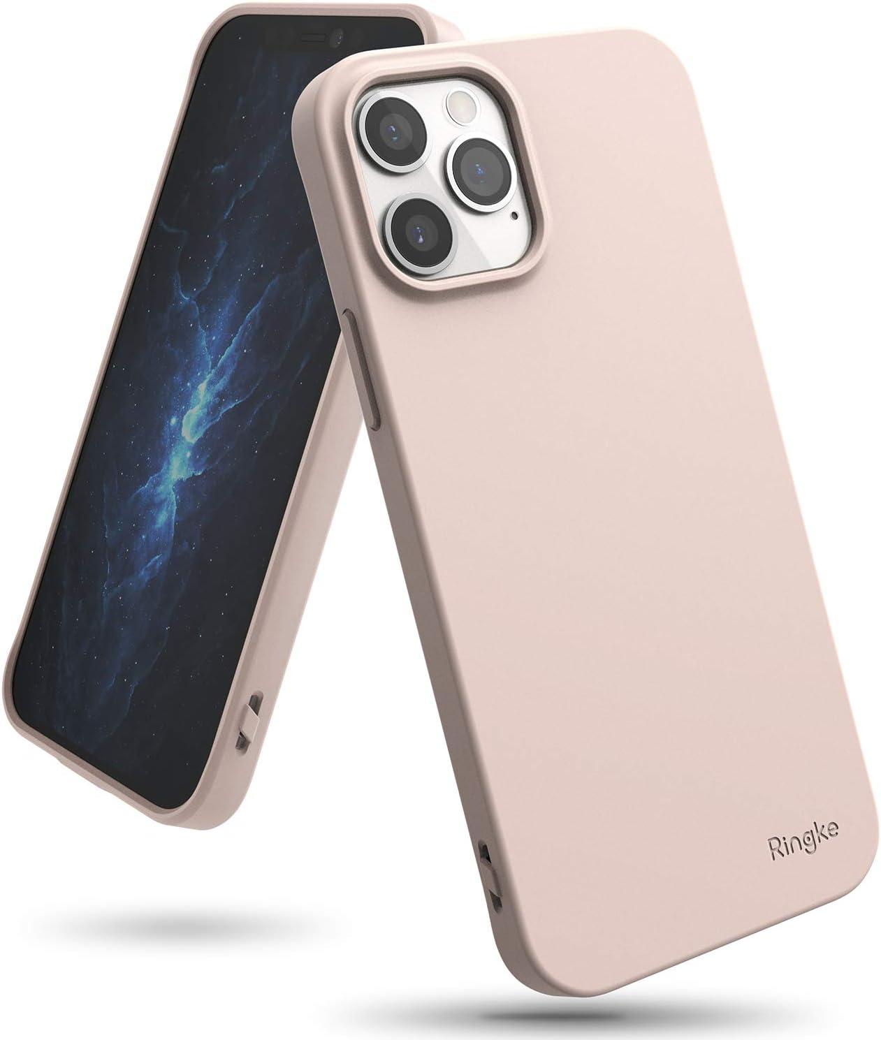 funda para iphone 12/12 pro Ringke Air-S Pink Sand