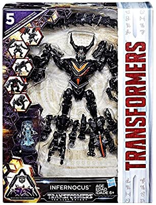 Transformers the Last Knight Infernocus Combiner Exclusive