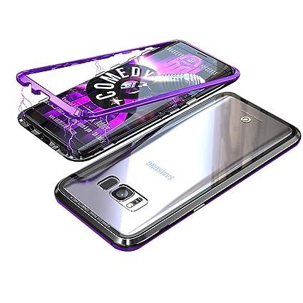 Amazon.com: UMTITI - Funda para Samsung Galaxy S8 (cristal ...