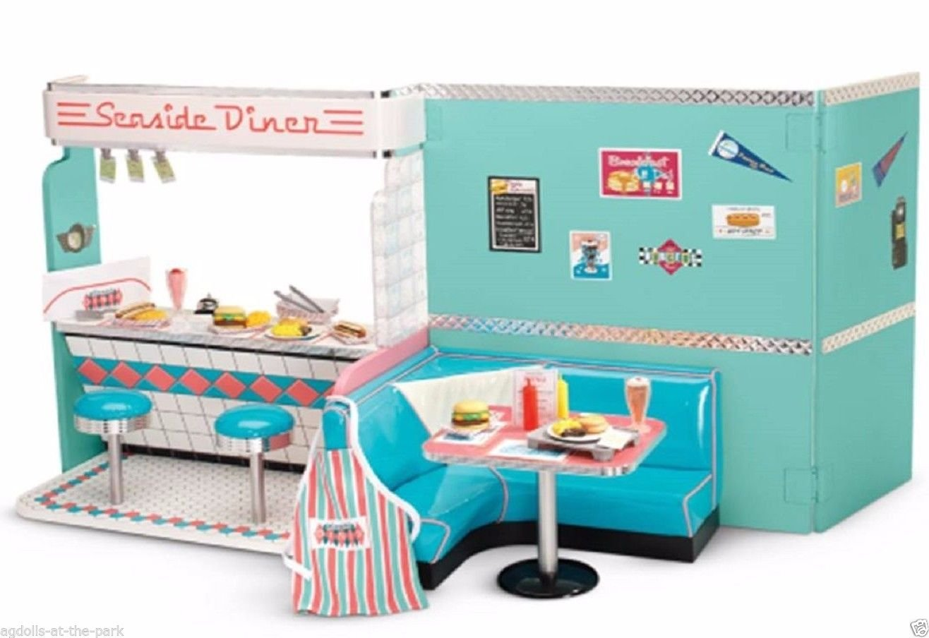 Amazon.com: American Girl Maryellen\'s Diner Set: Toys & Games