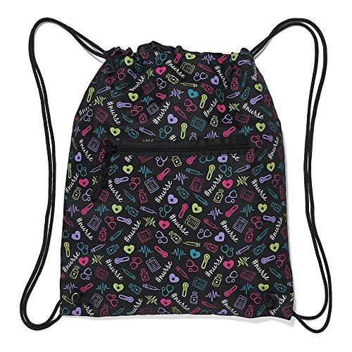 Nurse Mates Nurse Cinch Sack Backpack Multi Nurse
