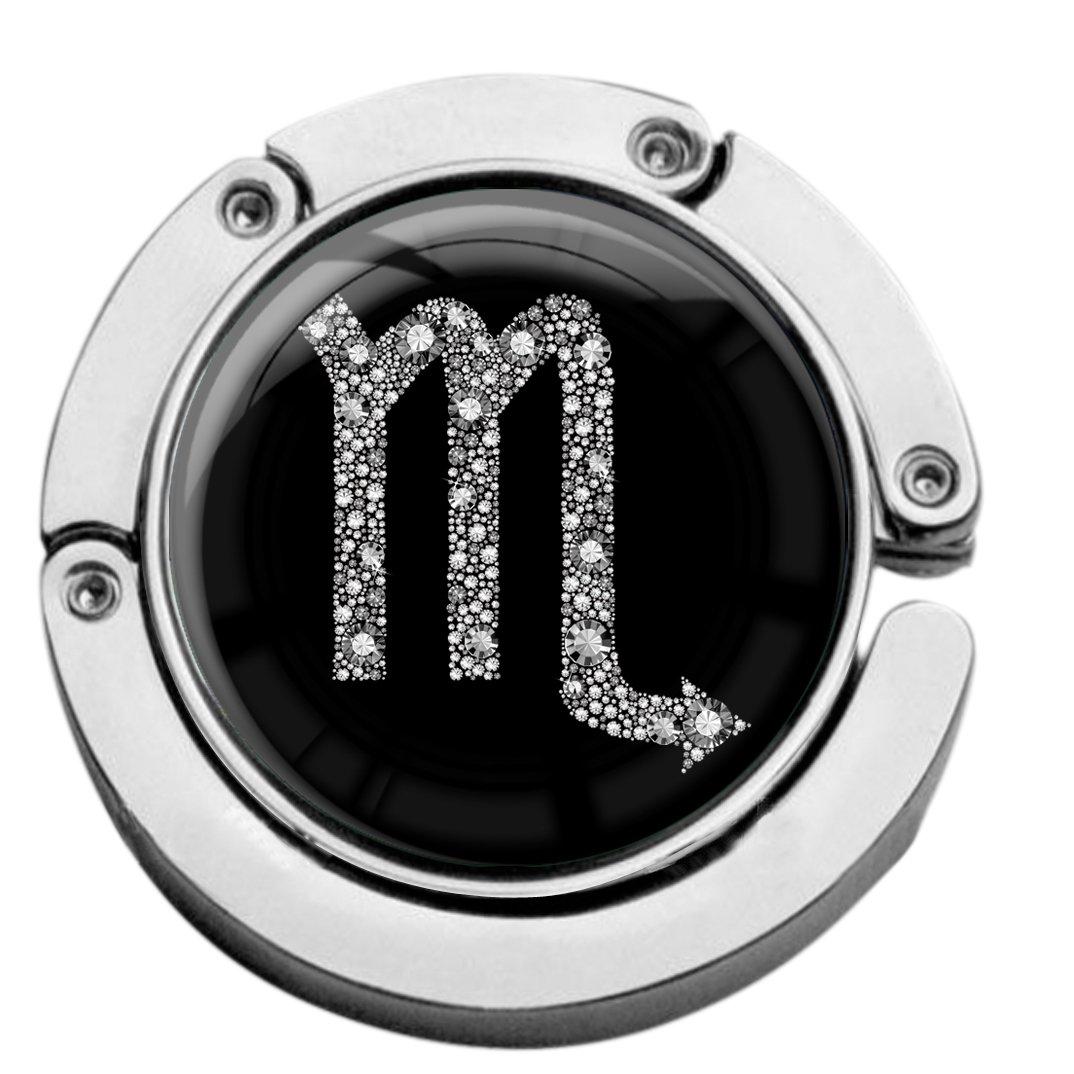 """metALUm Taschenaufhänger in runder Form /""""Sternzeichen Stier in Gold/"""""""