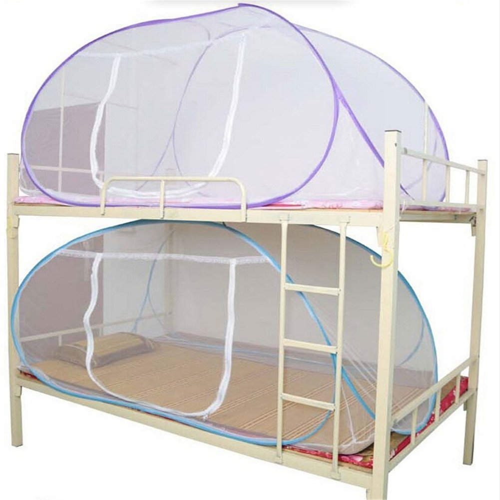Brightup Mosquito Net For Bed Yurt Free Installation Bottomed Folding Single Door Netting
