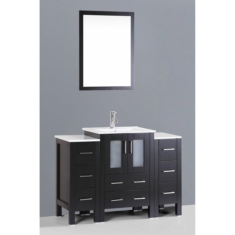 85 Off Bosconi Bathroom Vanities 48 Classic Single Vanity With Integrated Rectangular Sink