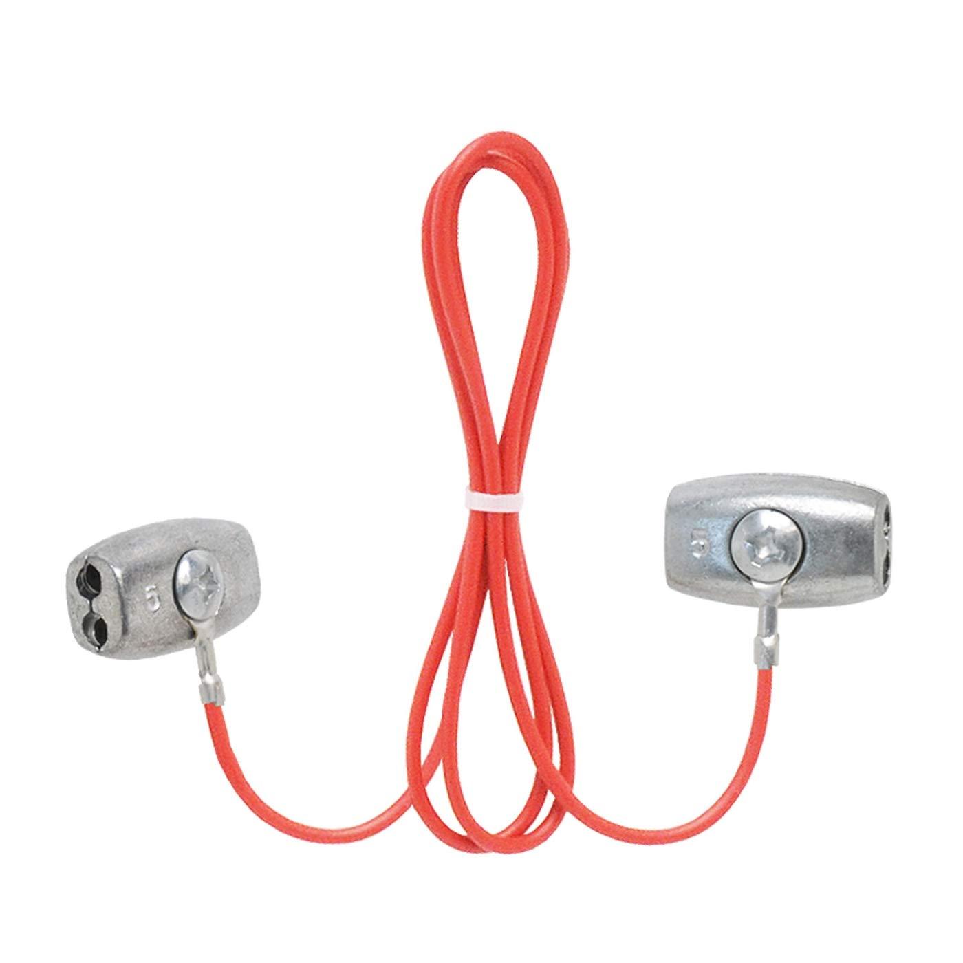 Accesorio para unir cuerda conductora de una cerca, 60 cm Voss