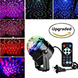 RECHING Crystal Magic Rotating Ball 2nd Generation Effect Led Stage Lights...