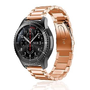 awstech para Samsung Gear S3 pulsera de acero inoxidable ...