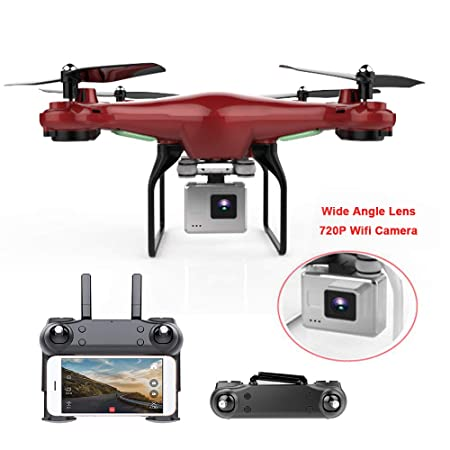 Quadcopter, Actualizar dron con cámara 720P HD Hover Helikopter ...