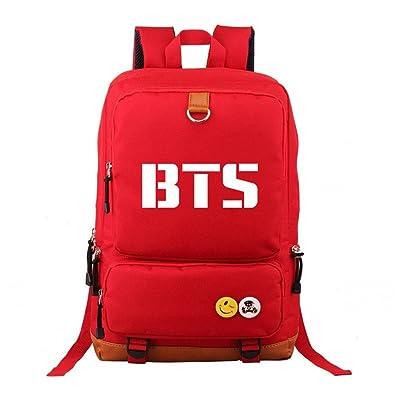 BTS Starry Sky Casual Backpack Shoulder Bag School Bag for Women,Men