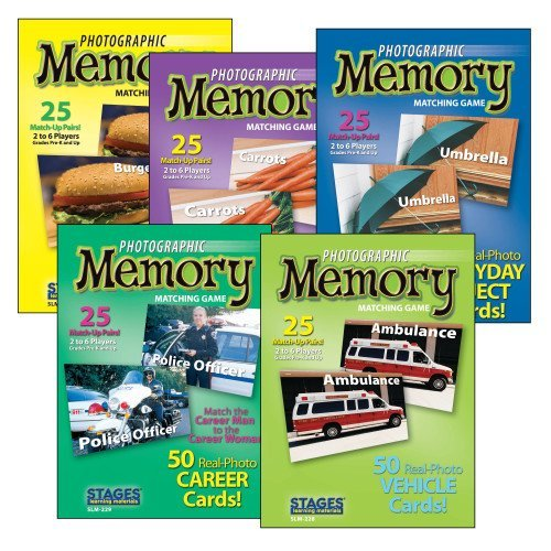 Worldwide Photographic Memory Card Game, Basic Memory (Best Food For Memory And Concentration)