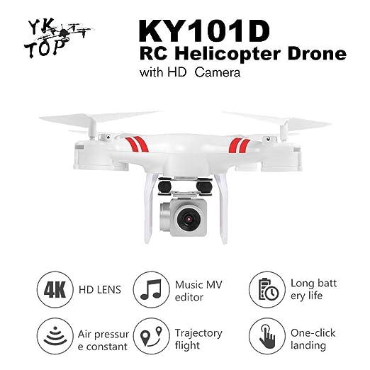Hehilark KY101D - Drone de helicóptero RC HD WiFi FPV 4K 16MP ...