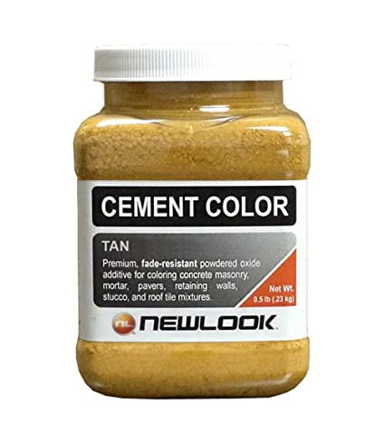 Amazon.com: CEMENT COLOR 0.5 lb. Tan Fade Resistant Cement Color ...