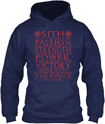 El código de Sith shirt- paz es una mentira, sólo hay pasión ...