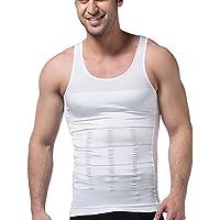 Mirecoo sıkıştırma Fit Erkek Figurformendes Kolsuz Training T-Shirt Shapewear