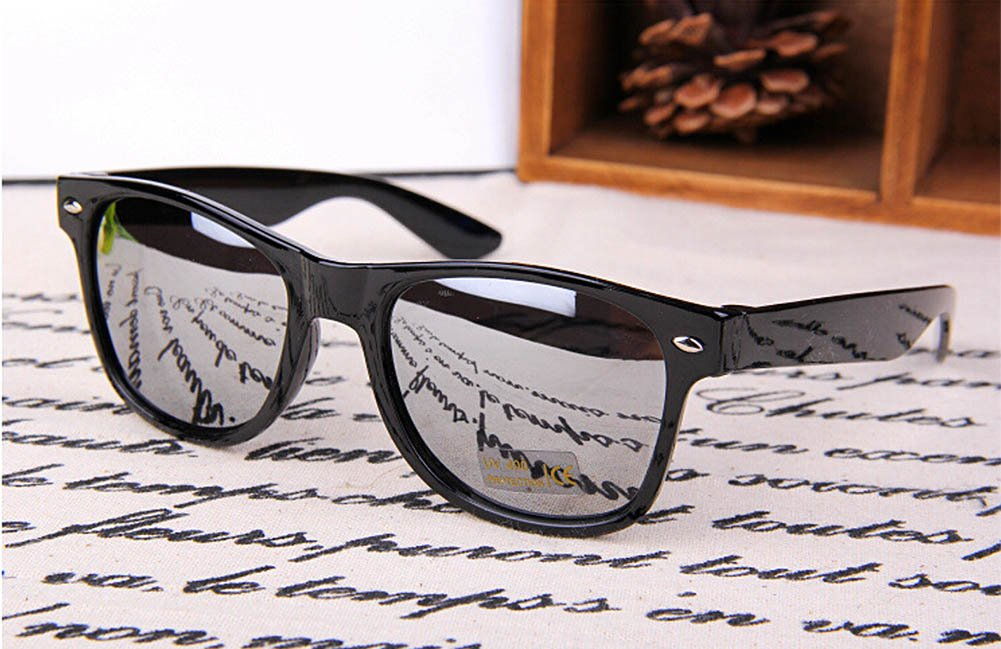 Unisex Gafas de Sol cl/ásicas Resistentes a la radiaci/ón Estilo Retro antirayos UV para Montar en Bicicleta para Actividades al Aire Libre MSYOU