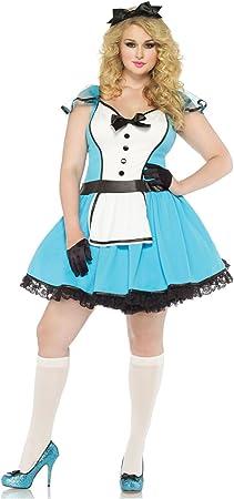 Leg Avenue - Disfraz para Mujer Alicia, Talla UK 44 - 46 ...