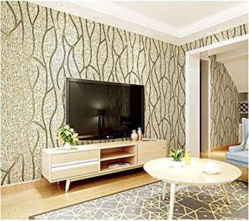 Yosot Moderne Vliesstoffe Geometrischen Streifen Tapeten Luxus 3d
