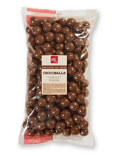 Chocoballs con chocolate con leche 800 gramos