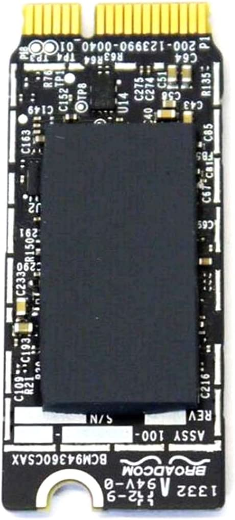Broadcom Bcm94360cs Bcm94360csax Bcm4360 Bluetooth Bt Wireless Wifi Card Module for Apple Laptop A1398 A1502 653-0029 802.11ac