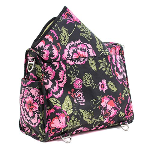 Ju-Ju-Be 09FM02A-REN - Bolsa de pañales convertible Rosa (Blooming Romance)