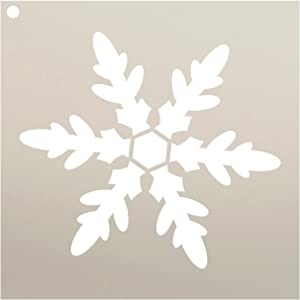 """Snowflake Stencil by StudioR12 