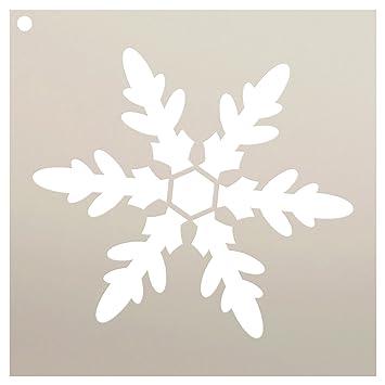 Amazon Com Snowflake Stencil By Studior12 Classic Winter Art