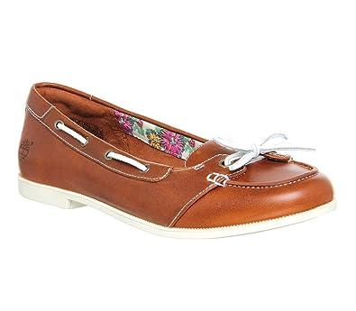 Timberland Cornish Short Vamp Slip On Brown Leather 7 UK