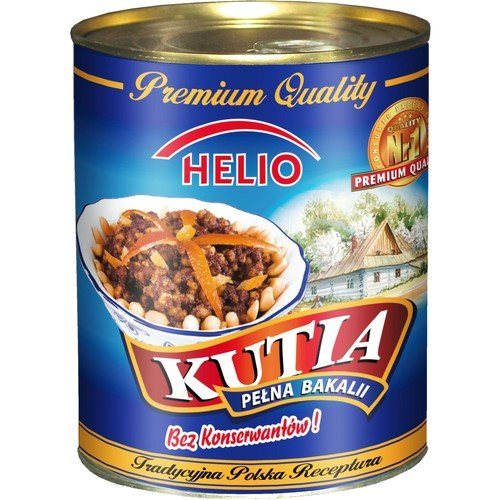Helio Kutia 850g, Masa Makowa Poppy Seed Filling Fried Fruits and Honey ()