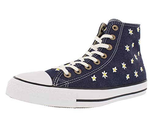 4a08b4cb65c5 Converse Chuck Taylor All Star Hi Sneakers Navy Fresh Yellow White Size  10.5 Women