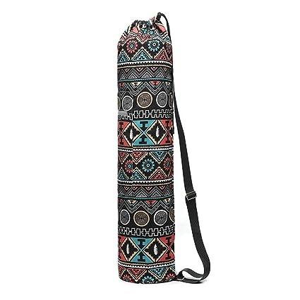 KOBWA - Bolsa ligera para esterilla de yoga, tamaño grande ...