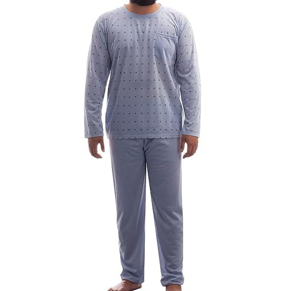 Lucky - Pijama - Lunares - Manga Larga - para hombre: Amazon.es: Ropa y accesorios