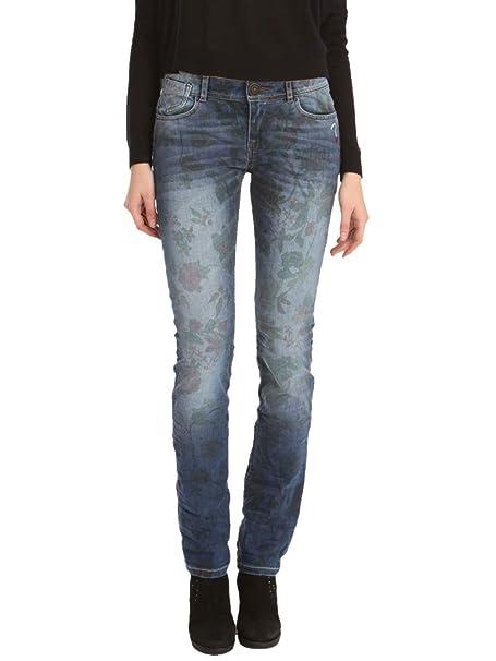 DESIGUAL Mujer Diseñador Top Jeans Pantalones - OMAN -32 ...