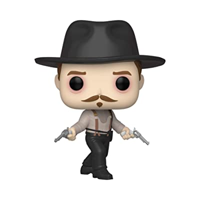 Funko POP! Movies: Tombstone #856 - Doc Holliday Stand Off Exclusive - Bundled with Free PET Compatible .5mm Extra Rigged Protector: Toys & Games