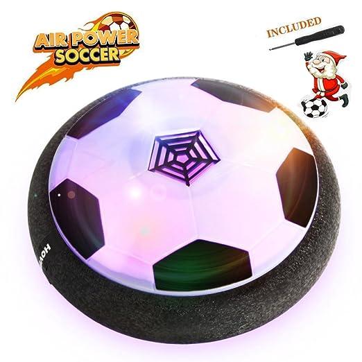 17 opinioni per Air Hover Ball Calcio da Interno- Betheaces Pallone da Calcio Fluttuante con LED