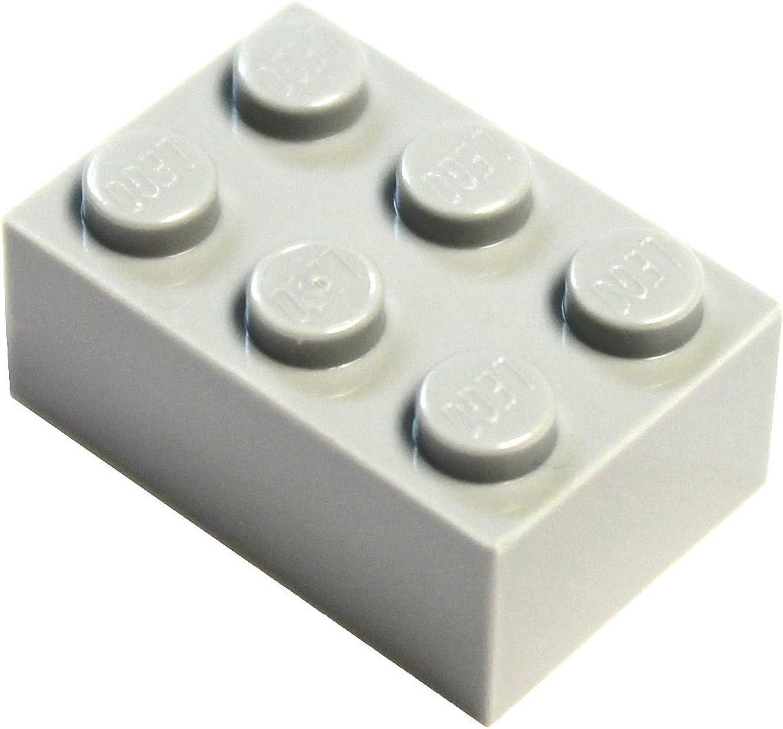 LEGO Parts and Pieces: Light Gray (Medium Stone Grey) 2x3 Brick x20