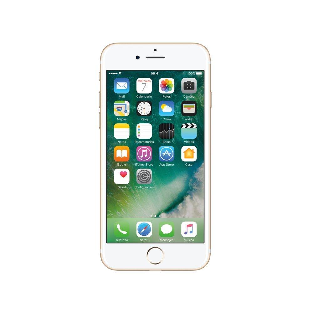 bde6a67b797 Smartphone Apple iPhone 7 128 GB, dorado. Telcel pre-pago: Amazon.com.mx:  Electrónicos
