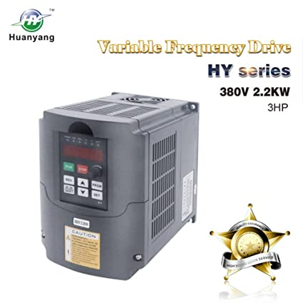 VFD 380V 2 2KW 3hp Variable Frequency Drive CNC VFD Motor Drive