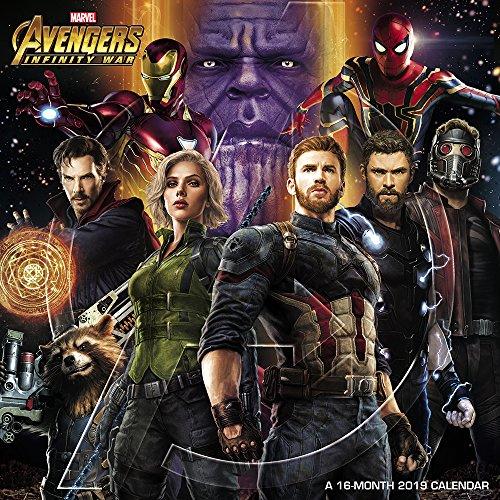 Avengers: Infinity War Wall Calendar (2019)]()
