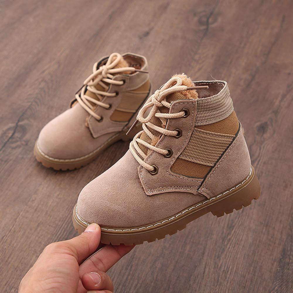 ff2d4afa96e7c Amazon.com: Moonper Children Martin Sneaker, Baby Boys Girls Velvet ...