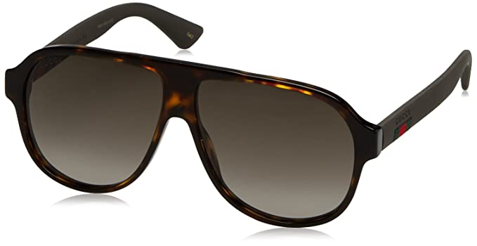 b8249a0840ca4 Image Unavailable. Image not available for. Colour  Gucci Men s GG0009S  Sunglasses
