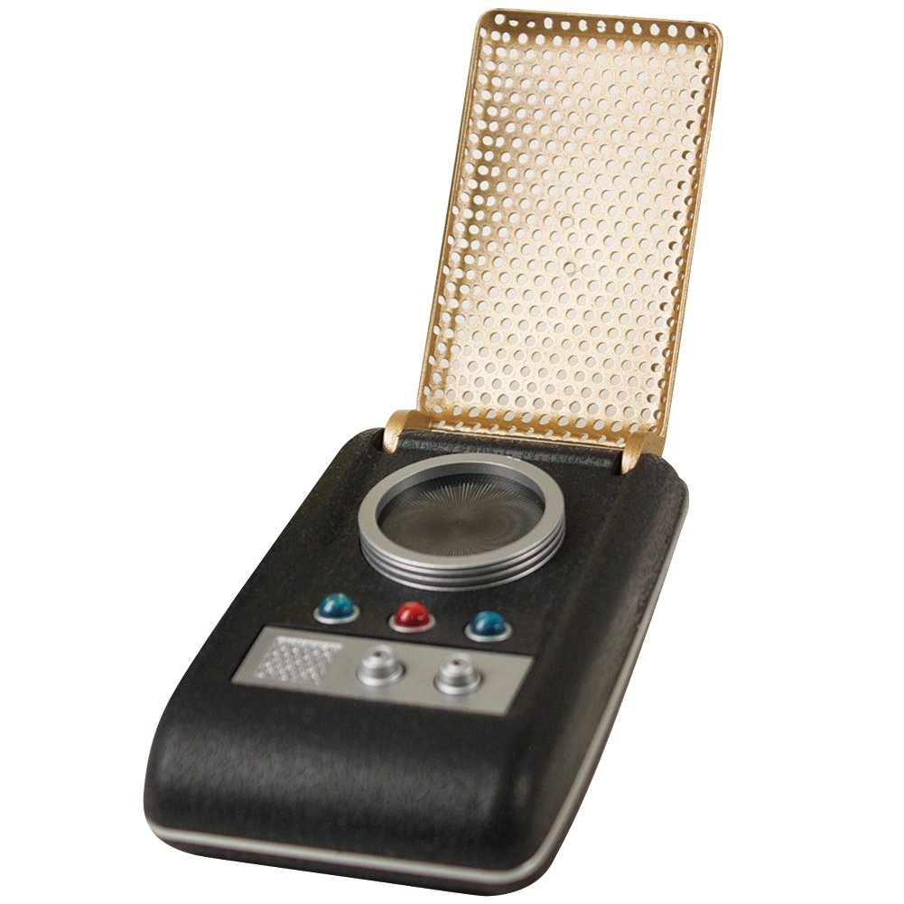 Amazon.com: Johnson Smith Co Star Trek Light And Sound Mini Communicator  Authentic Palm Sized Replica: Toys & Games