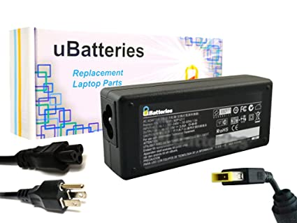 UBatteries Compatible 20V 65W AC Adapter Replacement For Lenovo ThinkPad IdeaPad Yoga 11 13 14 ADLX65NCC2A 36200284 PN 45N0263 FRU 45N0480 ...