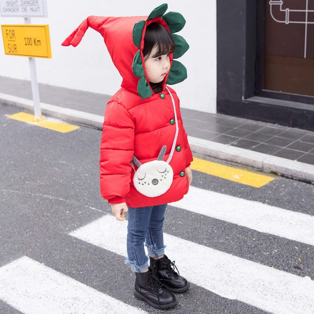 My Sky Baby Girls Infant Winter Cotton Outerwear Coats Snowsuit Jackets