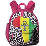 Ankh African Colored Africa 3D Print Student Backpack Kids Fashion Bookbags