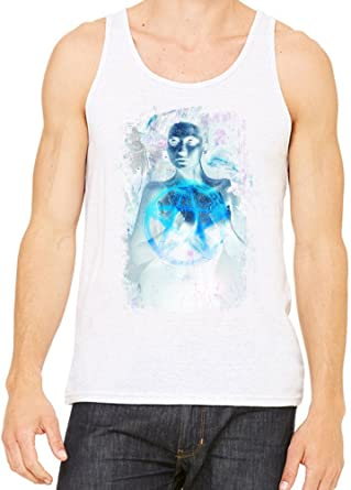 6caec45484c064 Water Inked Tank Top T-Shirt For Men   Women