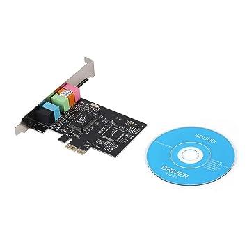 Banbie8409 PCI-E 5 Canales de la Tarjeta de Sonido, PCI ...
