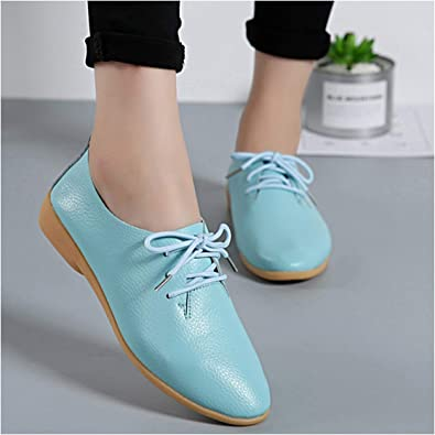 2019 Spring Oxford Zapatos Planos para Mujer Zapatos de Moda