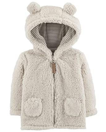 c64af1598168 Amazon.com  Carter s Baby Girls  Sherpa Jacket (Baby)  Clothing