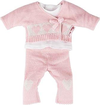 Babypuppen & Zubehör Käthe Kruse 36704 Overall mint mit Bärenappli